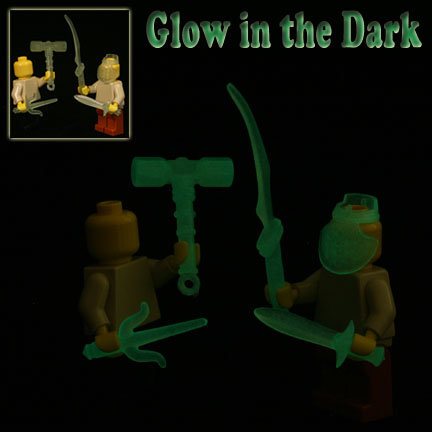 Weapons Pack - Glow in the Dark