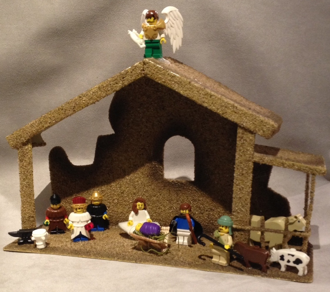 Brick Nativity